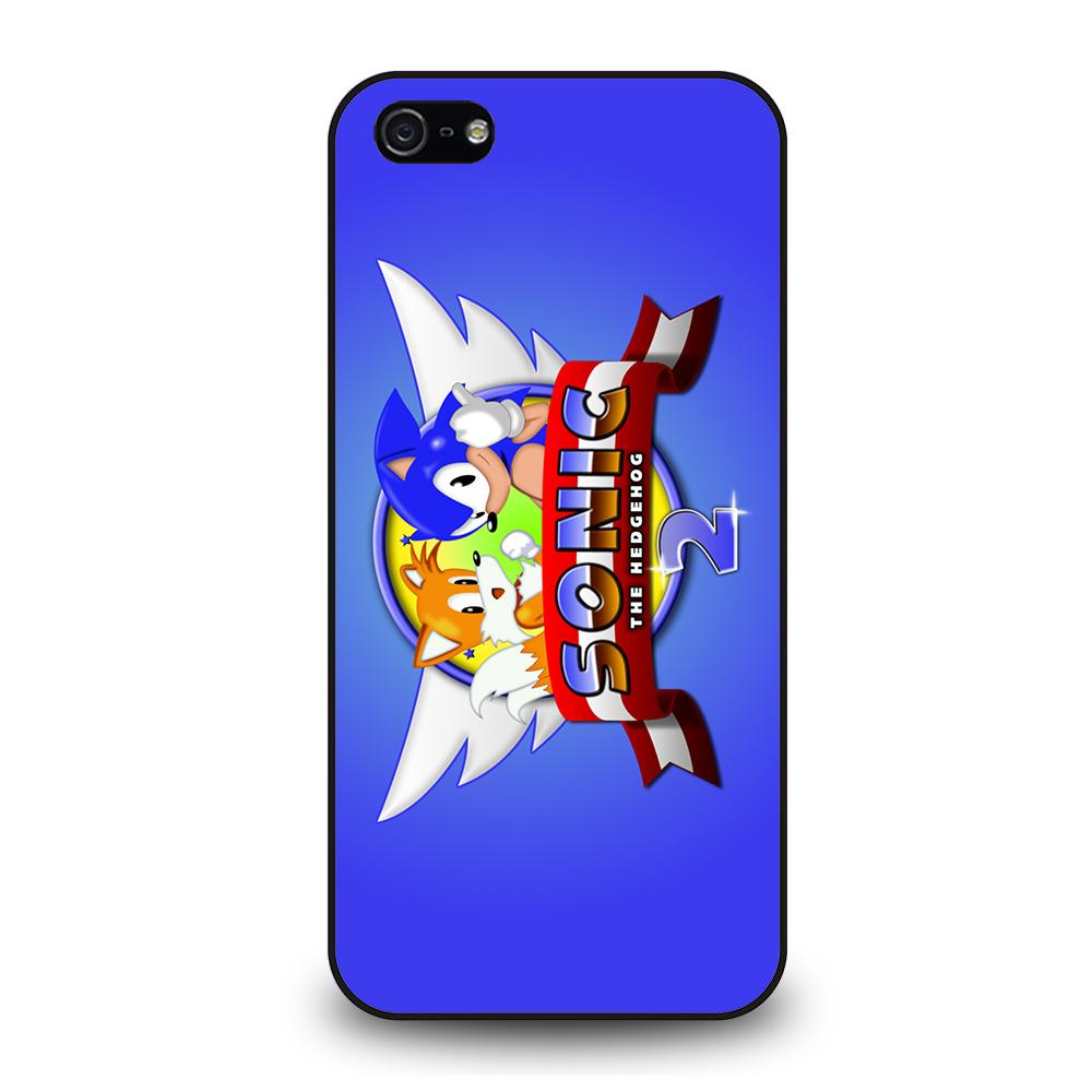 SONIC THE HEDGEHOG 2 Cover iPhone 5 / 5S / SE