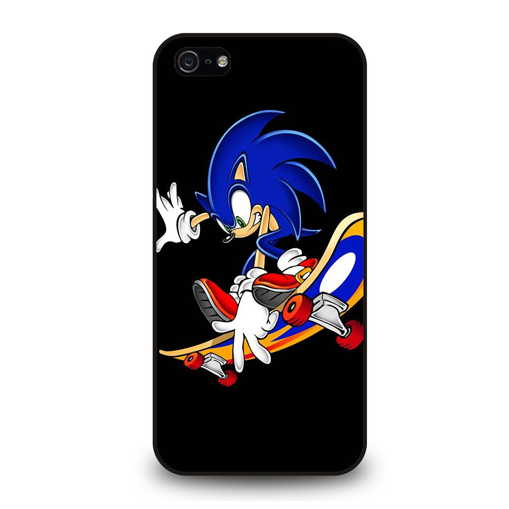 SONIC THE HEDGEHOG SKATEBOARD Cover iPhone 5 / 5S / SE