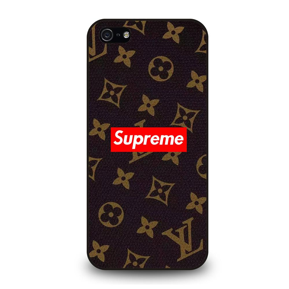 SUPREME BROWN Cover iPhone 5 / 5S / SE