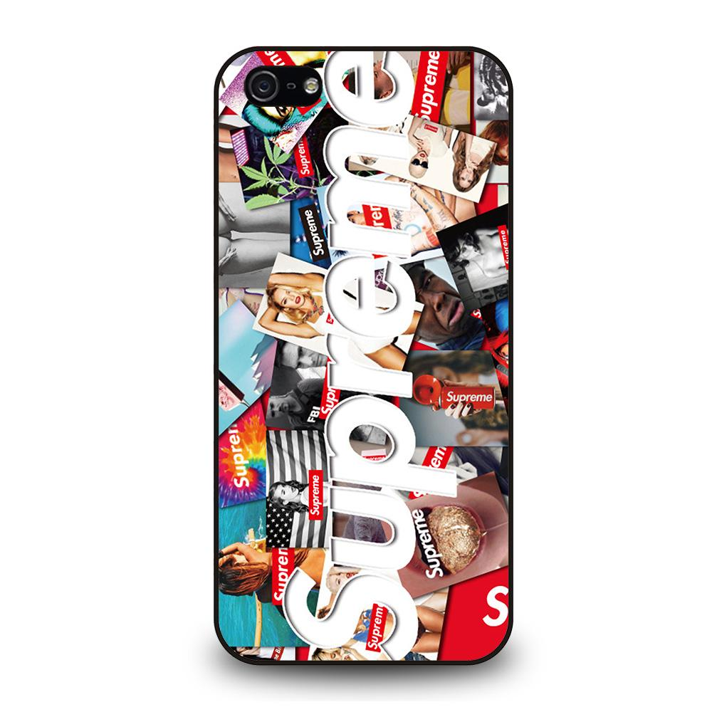 SUPREME STICKER FASHION SEXY Cover iPhone 5 / 5S / SE