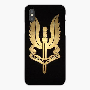 Custodia Cover iphone 6 7 8 plus Sas Special Air Service Logo