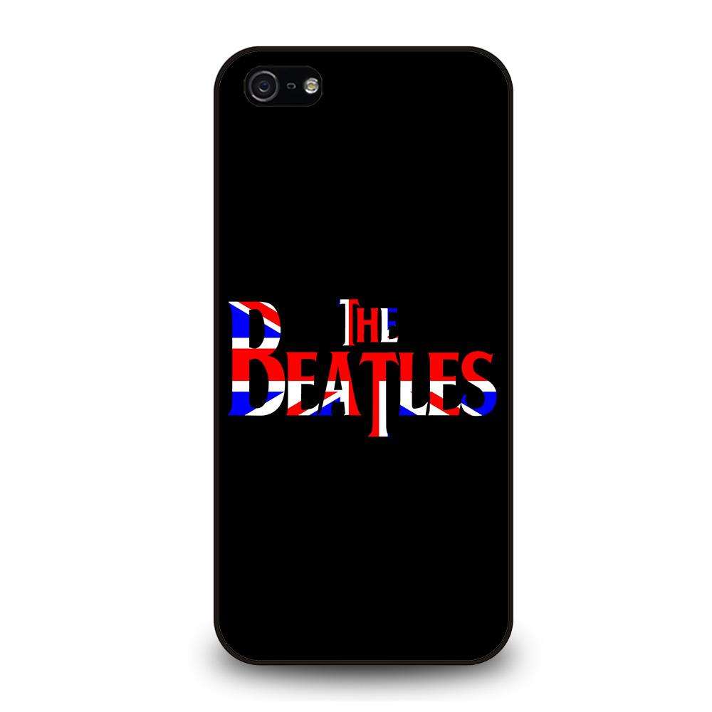 THE BEATLES NEW DESIGN BRITISH Cover iPhone 5 / 5S / SE