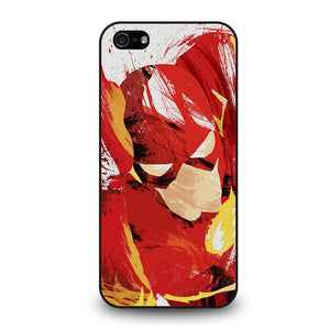 THE FLASH ART Cover iPhone 5 / 5S / SE