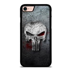 THE PUNISHER SKULL METAL Cover iPhone 8