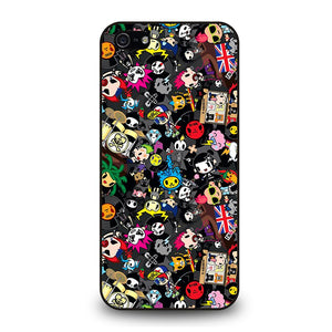 TOKIDOKI COLLAGE Cover iPhone 5 / 5S / SE