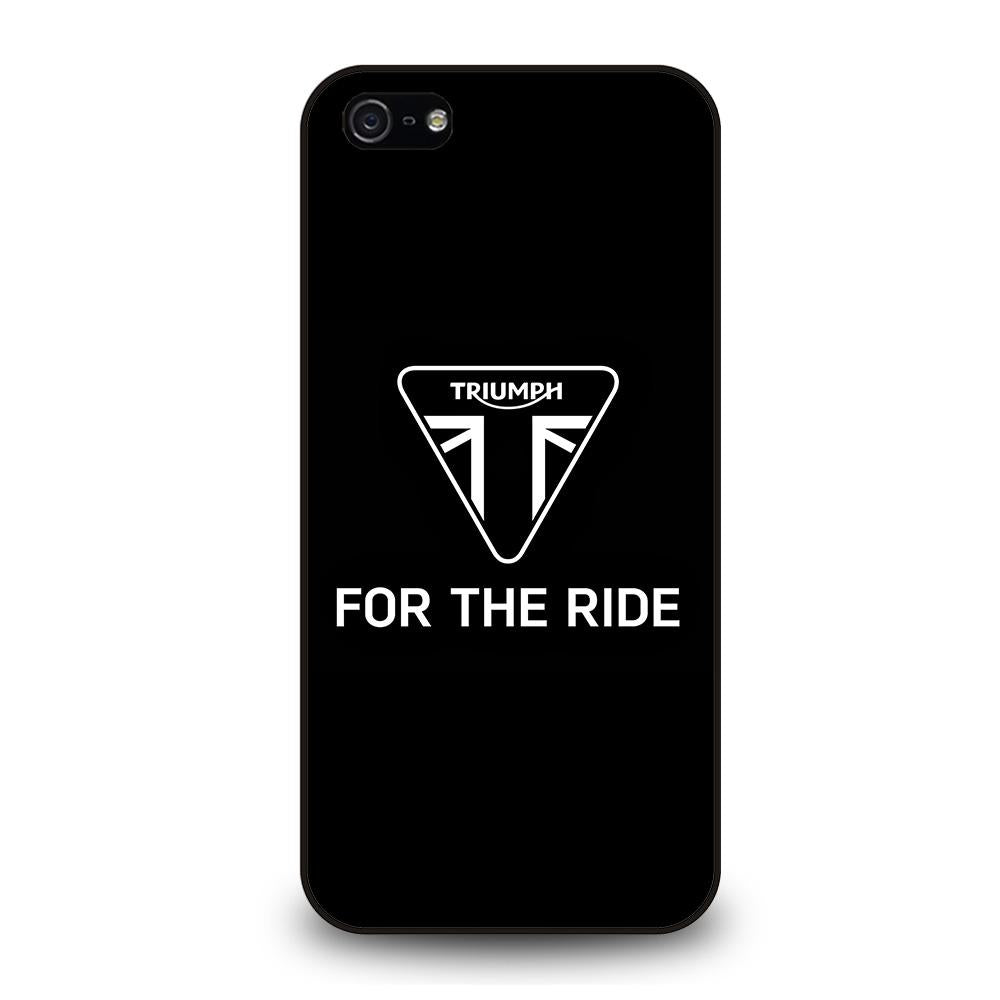TRIUMPH FOR THE RIDE LOGO Cover iPhone 5 / 5S / SE