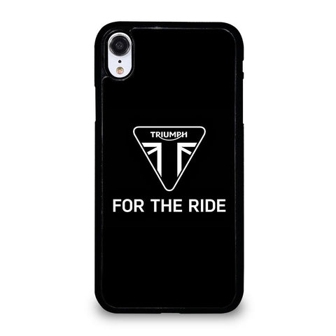 TRIUMPH FOR THE RIDE LOGO Cover iPhone XR,cover iphone xr cover iphone xr chiara ferragni,TRIUMPH FOR THE RIDE LOGO Cover iPhone XR