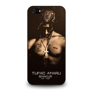 TUPAC AMARU SHAKUR Cover iPhone 5 / 5S / SE