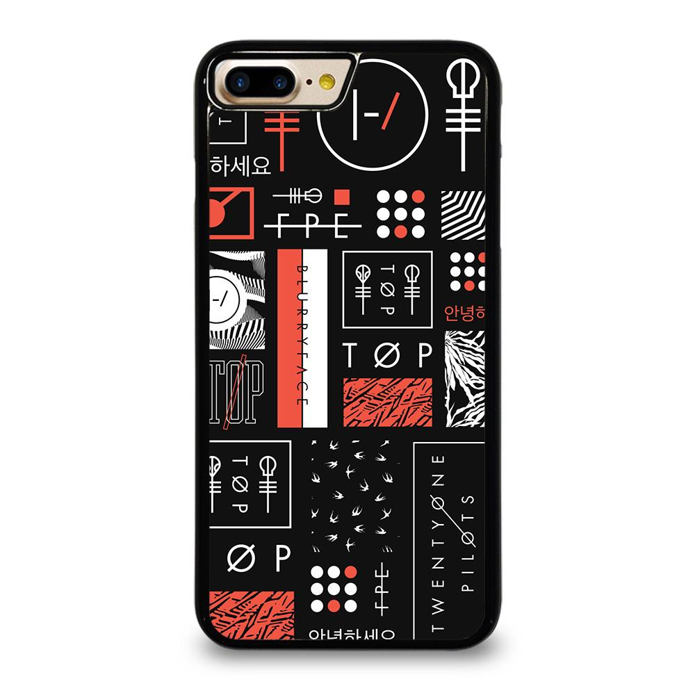 TWENTY ONE PILOTS BLURRYFACE ART Cover iPhone 7 Plus