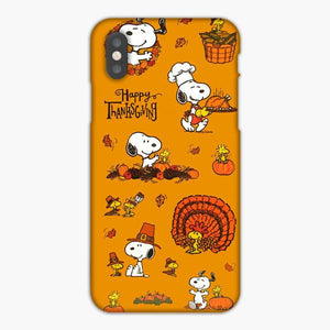 Custodia Cover iphone 6 7 8 plus Thanksgiving Turkey Snoopy