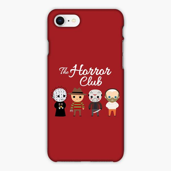 Custodia Cover iphone 6 7 8 plus The Horror Club Cartoon Red