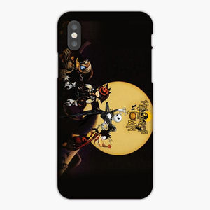 Custodia Cover iphone 6 7 8 plus The Nightmare Before Christmas Helloween Town