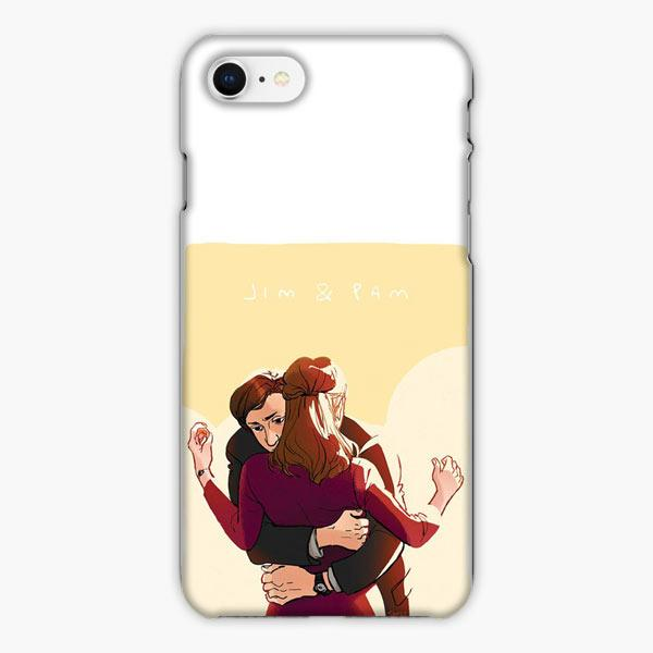 Custodia Cover iphone 6 7 8 plus The Office Jim And Pam