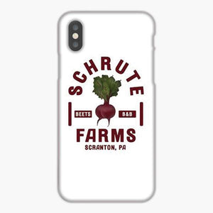 Custodia Cover iphone 6 7 8 plus The Office Schrute Farms