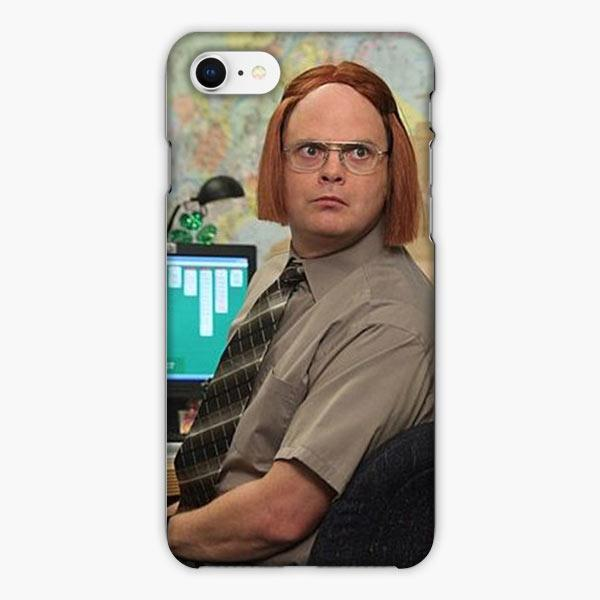 Custodia Cover iphone 6 7 8 plus The Office Show Schrute Has Wigs