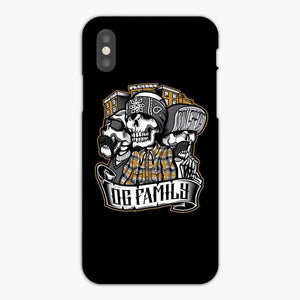 Custodia Cover iphone 6 7 8 plus The Skull Gangster