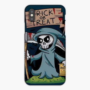 Custodia Cover iphone 6 7 8 plus Trick Or Treat Grim Reaper