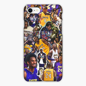 Custodia Cover iphone 6 7 8 plus Trophy From Time To Time Kobe Bryant Lakers Nba Los Angeles