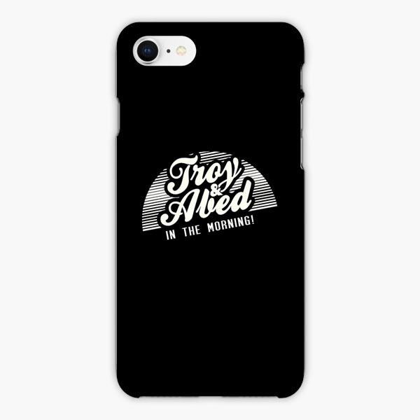 Custodia Cover iphone 6 7 8 plus Troy And Abed In The Morning White Black Vintage