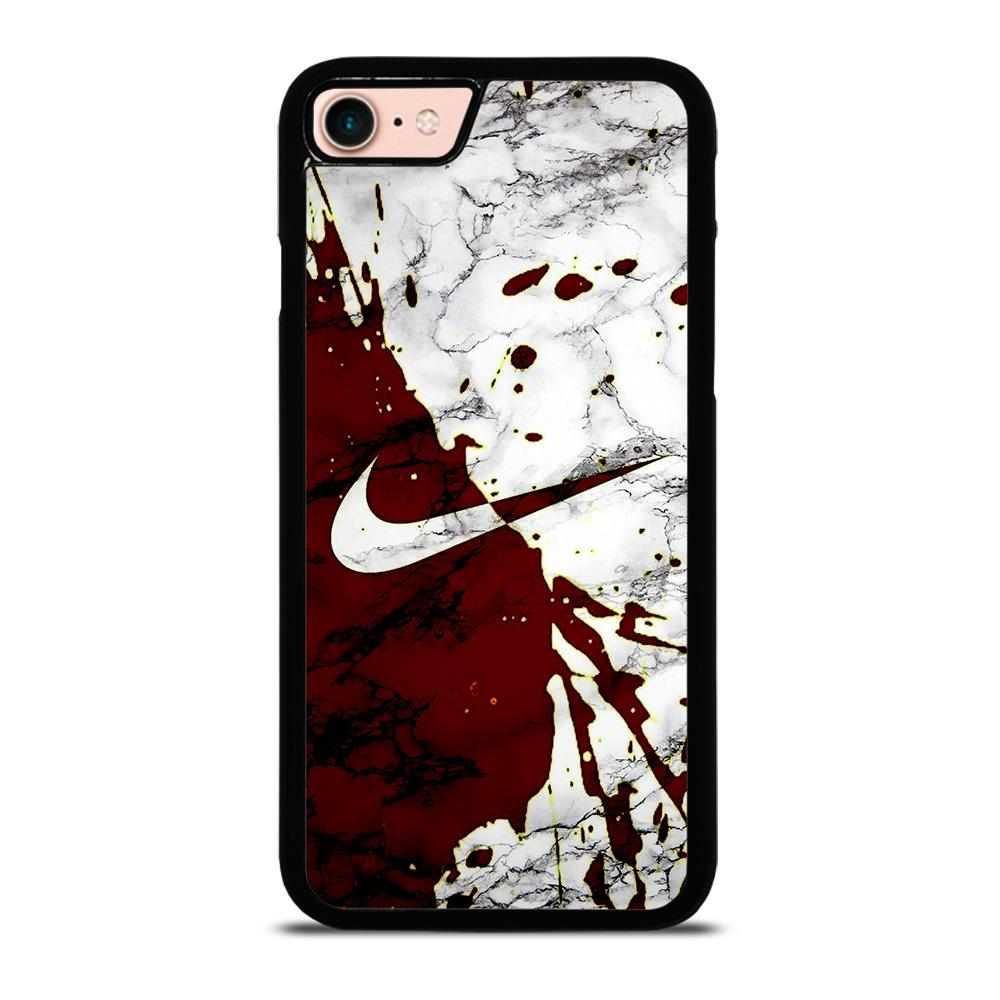 UNIQUE NIKE MARBLE LOGO Cover iPhone 8