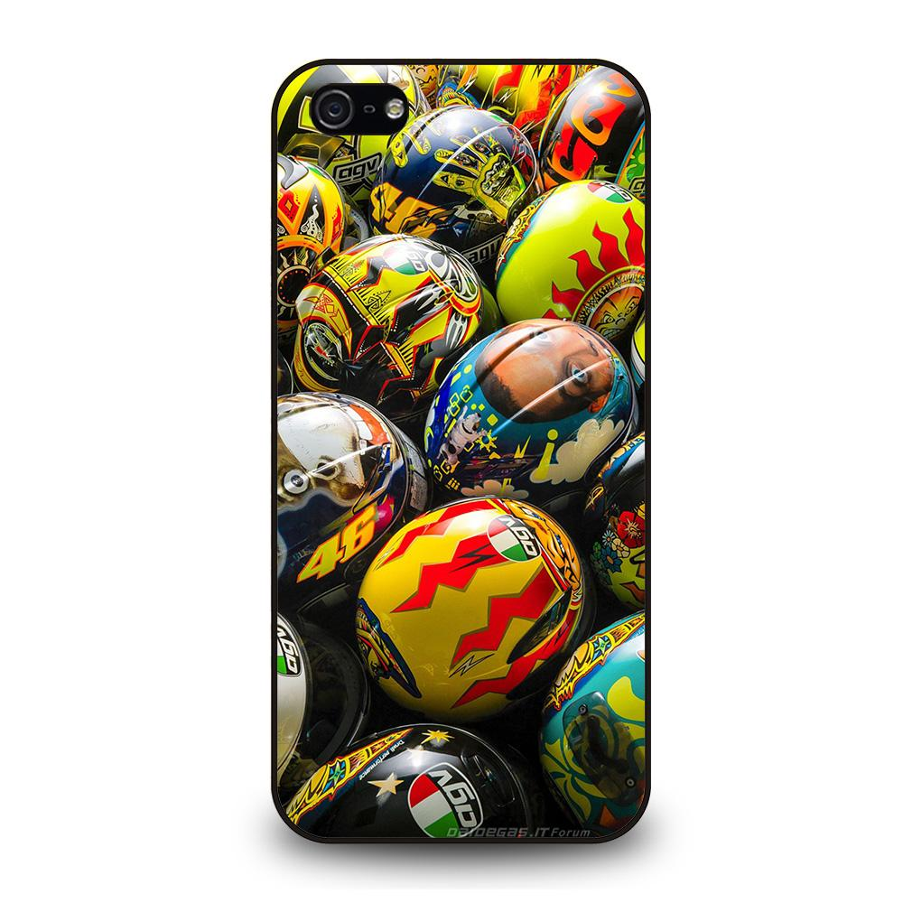 VALENTINO ROSSI AGV COLLECTION HELMETS Cover iPhone 5 / 5S / SE