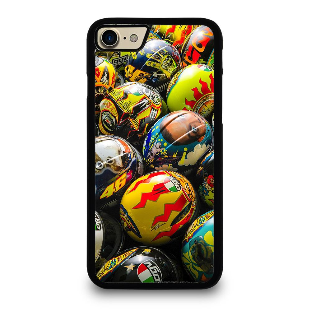 VALENTINO ROSSI AGV COLLECTION HELMETS Cover iPhone 7