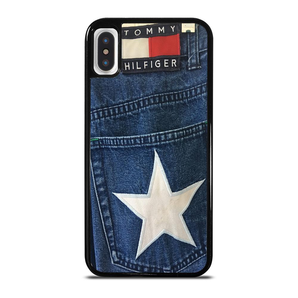 VINTAGE 90s TOMMY HILFIGER DENIM cover iPhone X / XS,recensione cover iphone xs cover iphone xs max originale,VINTAGE 90s TOMMY HILFIGER DENIM cover iPhone X / XS