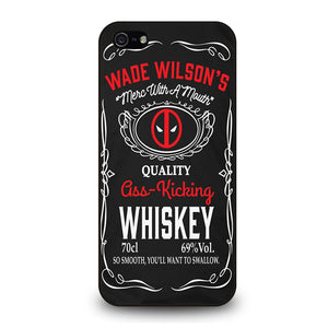 WADE WILSON WHISKEY DEADPOOL Cover iPhone 5 / 5S / SE