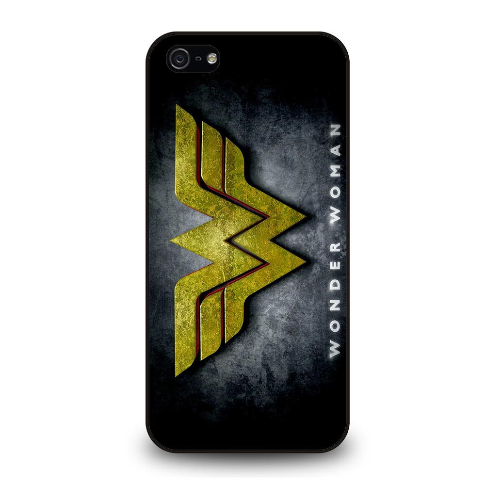 WONDER WOMAN LOGO NEW Cover iPhone 5 / 5S / SE