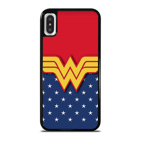 WONDER WOMAN LOGO cover iPhone X / XS,best cover iphone xs cover iphone xs black friday,WONDER WOMAN LOGO cover iPhone X / XS