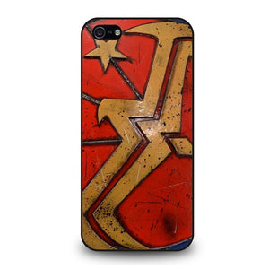 WONDER WOMAN SHIELD LOGO Cover iPhone 5 / 5S / SE