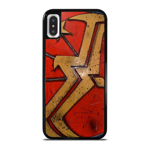 WONDER WOMAN SHIELD LOGO cover iPhone X / XS,cover iphone xs originale cover iphone xs max silicone,WONDER WOMAN SHIELD LOGO cover iPhone X / XS
