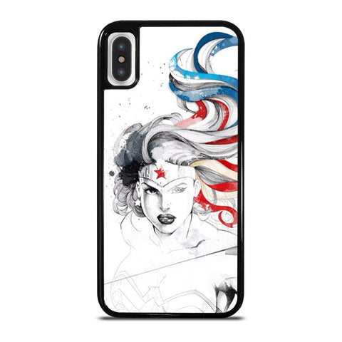 WONDER WOMAN SKETCH cover iPhone X / XS,cover iphone xs black friday cover iphone xs antiurto,WONDER WOMAN SKETCH cover iPhone X / XS