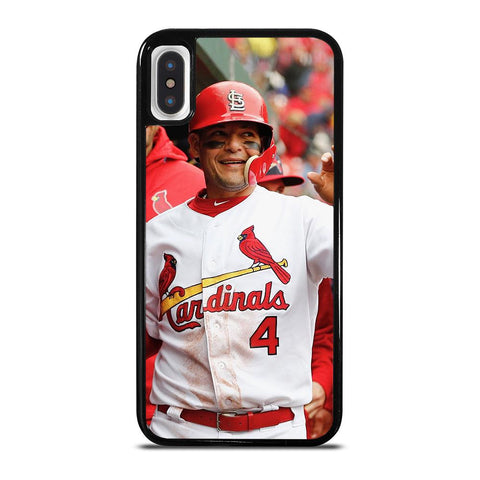 YADIER MOLINA CARDINALS cover iPhone X / XS,miglior cover iphone xs migliori cover iphone xs,YADIER MOLINA CARDINALS cover iPhone X / XS