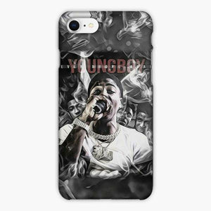 Custodia Cover iphone 6 7 8 plus Youngboy Never Broke Again Hiphop Art