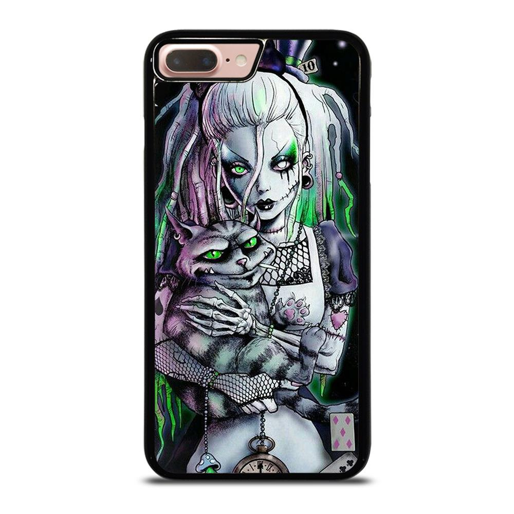 ZOMBIE ALICE IN WONDERLAND Cover iPhone 8 Plus,cover iphone 8 plus yves saint laurent cover iphone 8 plus ricarica wireless,ZOMBIE ALICE IN WONDERLAND Cover iPhone 8 Plus