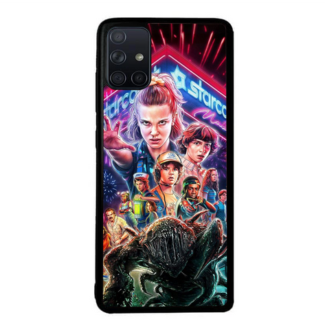 coque custodia cover fundas hoesjes j3 J5 J6 s20 s10 s9 s8 s7 s6 s5 plus edge B37017 Stranger Things FF0044 Samsung Galaxy A51 Case