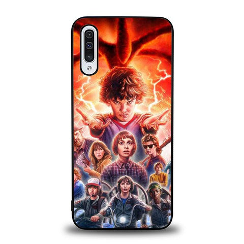 coque custodia cover fundas hoesjes j3 J5 J6 s20 s10 s9 s8 s7 s6 s5 plus edge B37039 Stranger Things FF0045 Samsung Galaxy A50 Case
