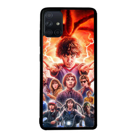 coque custodia cover fundas hoesjes j3 J5 J6 s20 s10 s9 s8 s7 s6 s5 plus edge B37040 Stranger Things FF0045 Samsung Galaxy A51 Case