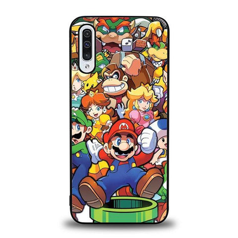 coque custodia cover fundas hoesjes j3 J5 J6 s20 s10 s9 s8 s7 s6 s5 plus edge B37214 Super Mario Party FF0083 Samsung Galaxy A50 Case