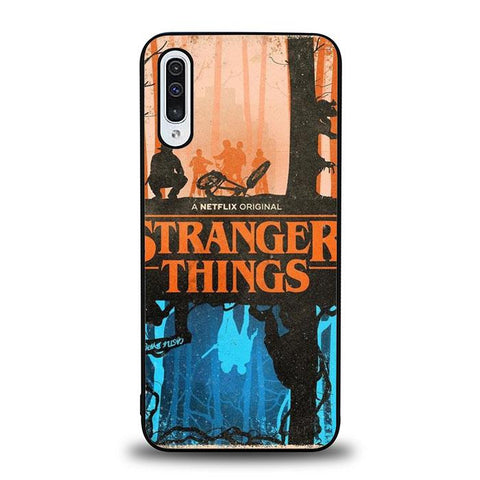 coque custodia cover fundas hoesjes j3 J5 J6 s20 s10 s9 s8 s7 s6 s5 plus edge B37060 Stranger Things FF0327 Samsung Galaxy A50 Case