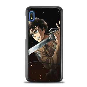 coque custodia cover fundas hoesjes j3 J5 J6 s20 s10 s9 s8 s7 s6 s5 plus edge B9652 Anim Attack On Tittan FF0328a Samsung Galaxy A10e Case