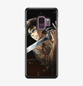 coque custodia cover fundas hoesjes j3 J5 J6 s20 s10 s9 s8 s7 s6 s5 plus edge B9659 Anim Attack On Tittan FF0328a Samsung Galaxy S9 Case