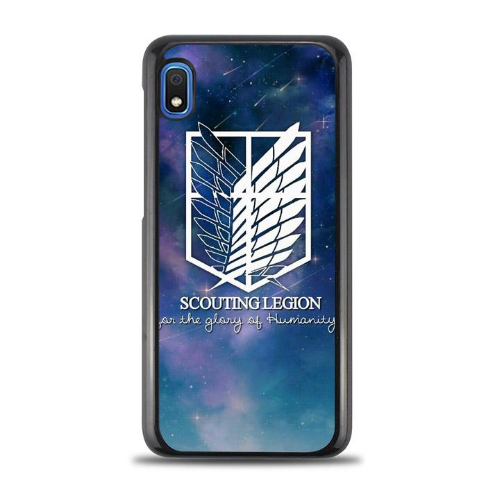 coque custodia cover fundas hoesjes j3 J5 J6 s20 s10 s9 s8 s7 s6 s5 plus edge B10552 Attack On Titan Scounting FF0359a Samsung Galaxy A10e Case
