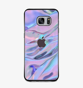 coque custodia cover fundas hoesjes j3 J5 J6 s20 s10 s9 s8 s7 s6 s5 plus edge B10061 Apple Logo Hologram FF5045 Samsung Galaxy S7 Case