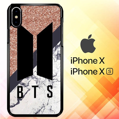 BTS Sparkling S0608 custodia iPhone X, XS