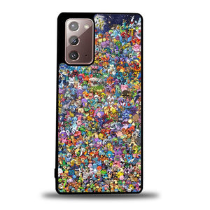 coque custodia cover fundas hoesjes j3 J5 J6 s20 s10 s9 s8 s7 s6 s5 plus edge B9426 ALL POKEMON CHARACTER B0103 Samsung Galaxy Note 20 Case