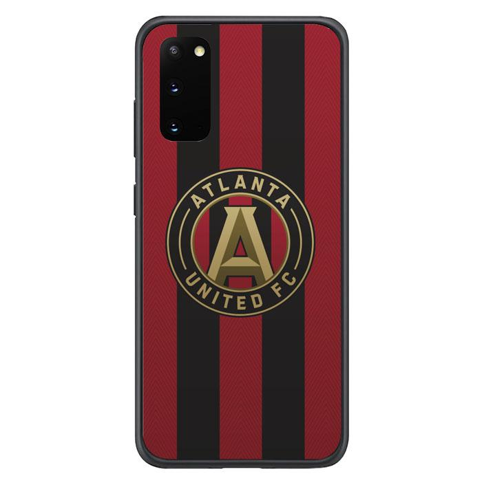 coque custodia cover fundas hoesjes j3 J5 J6 s20 s10 s9 s8 s7 s6 s5 plus edge B10425 ATLANTA UNITED FC B0057 Samsung Galaxy S20 Case