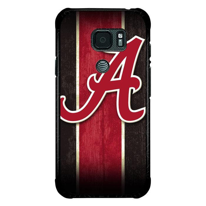coque custodia cover fundas hoesjes j3 J5 J6 s20 s10 s9 s8 s7 s6 s5 plus edge B9295 ALABAMA RED LOGO B0243 Samsung Galaxy S7 Active Case
