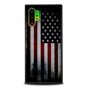 coque custodia cover fundas hoesjes j3 J5 J6 s20 s10 s9 s8 s7 s6 s5 plus edge B9560 American Flag B0341 Samsung Galaxy Note 10 Plus Case